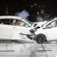 A dual car crash